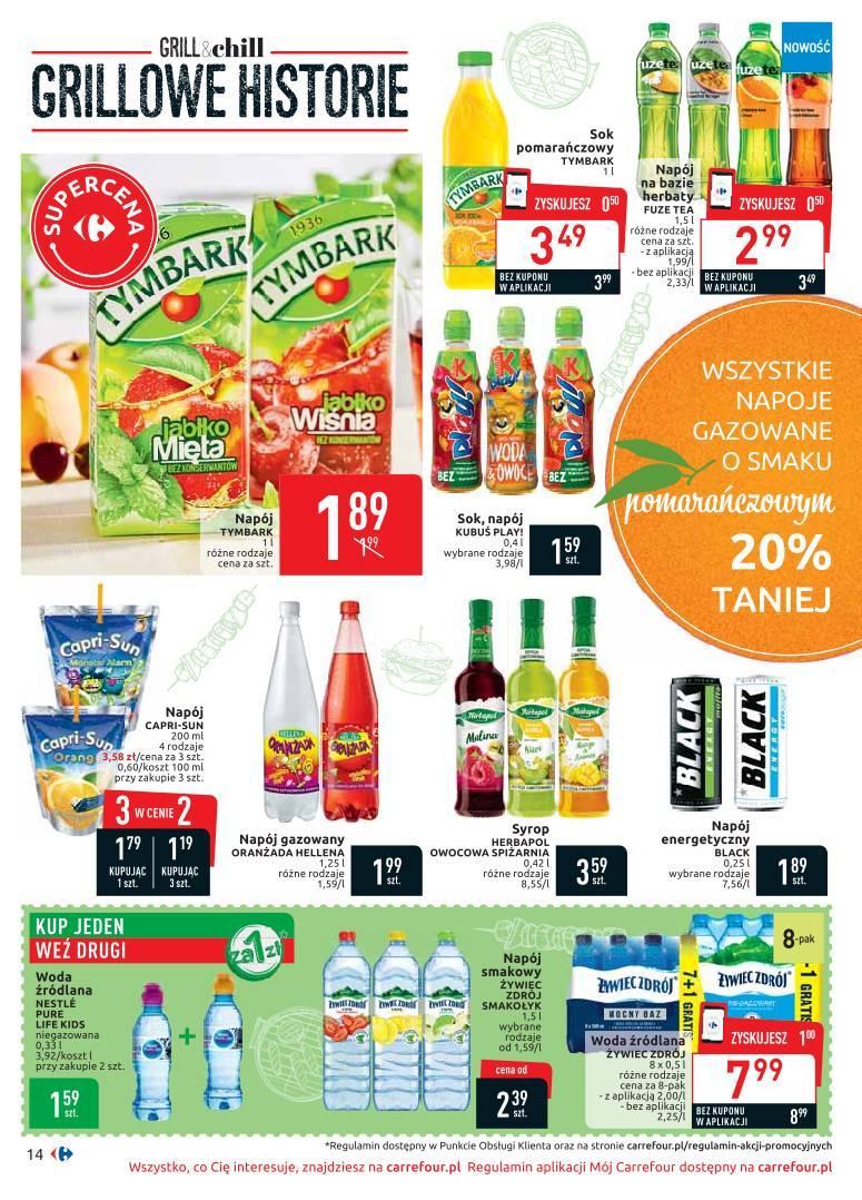 Gazetka promocyjna Carrefour do 19/08/2019 str.13