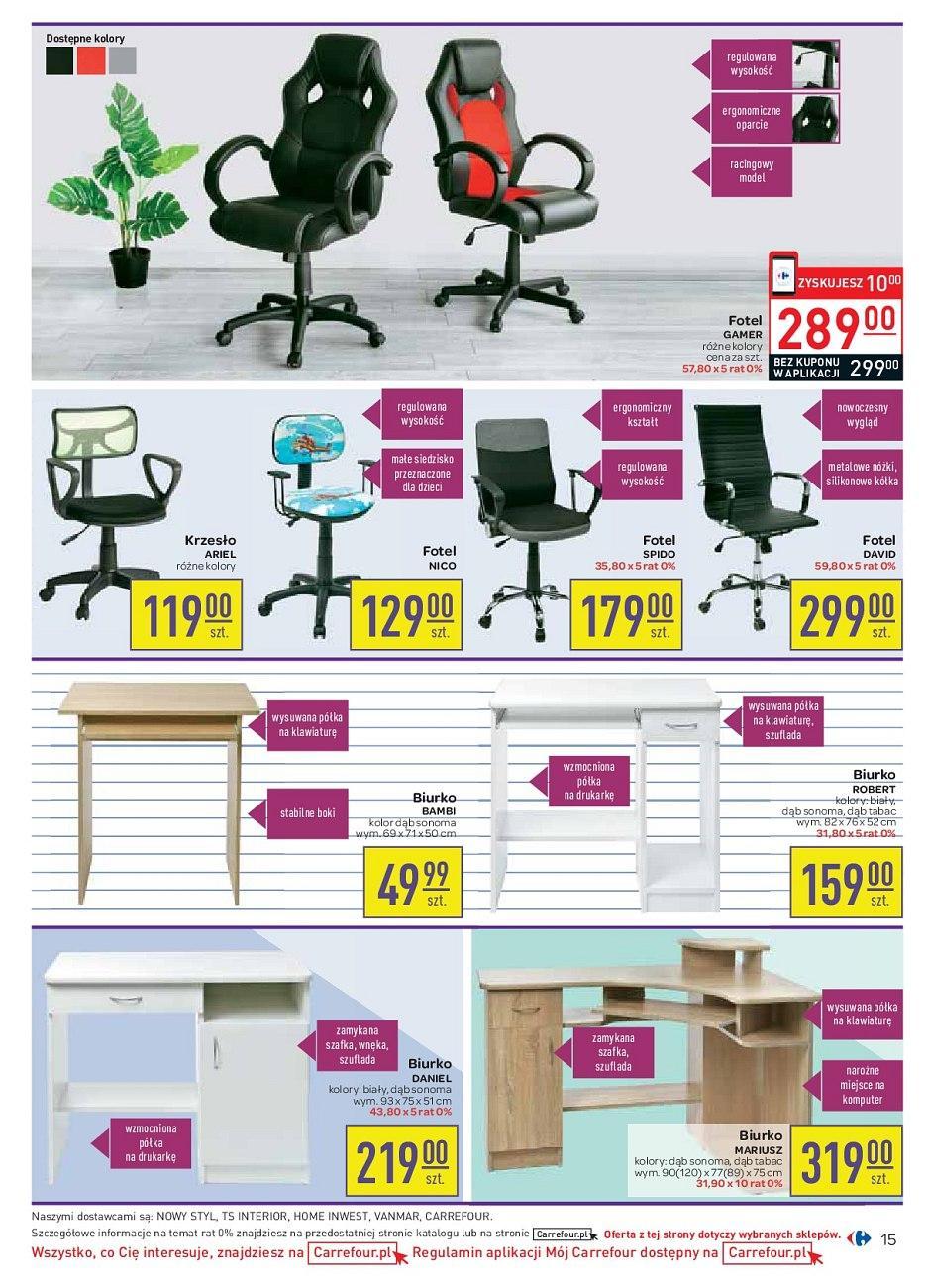 Gazetka promocyjna Carrefour do 04/09/2018 str.15