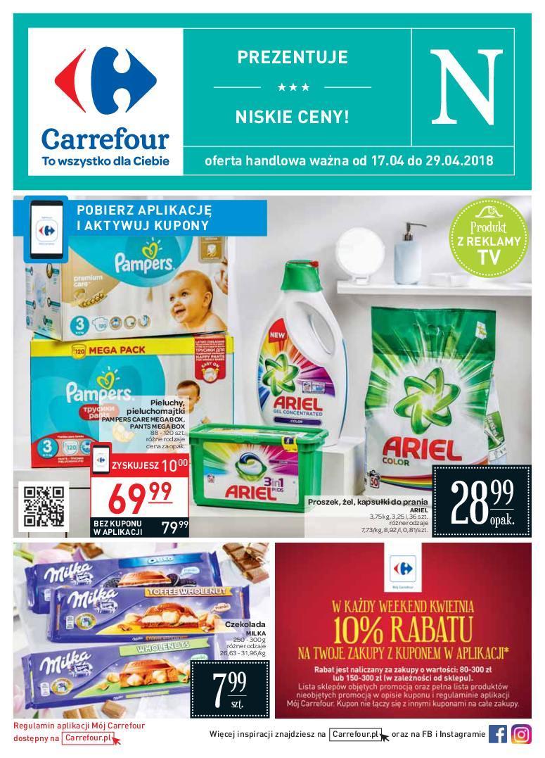 Gazetka promocyjna Carrefour do 29/04/2018 str.0