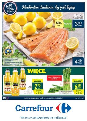 Carrefour gazetka - od 14/05/2019 do 26/05/2019