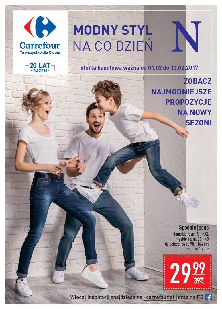 Gazetka promocyjna Carrefour do 13/02/2017 str.0
