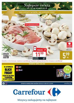 Carrefour gazetka - od 26/11/2019 do 07/12/2019