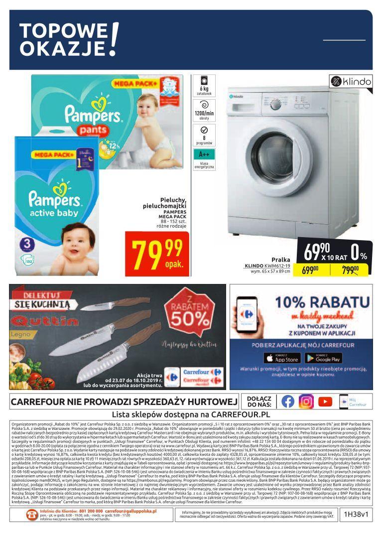 Gazetka promocyjna Carrefour do 29/09/2019 str.35