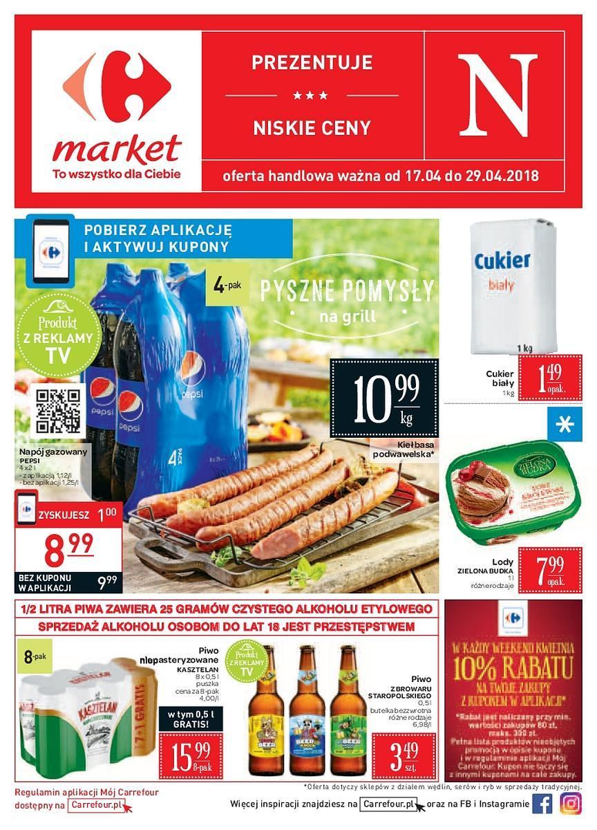 Gazetka promocyjna Carrefour Market do 29/04/2018 str.0