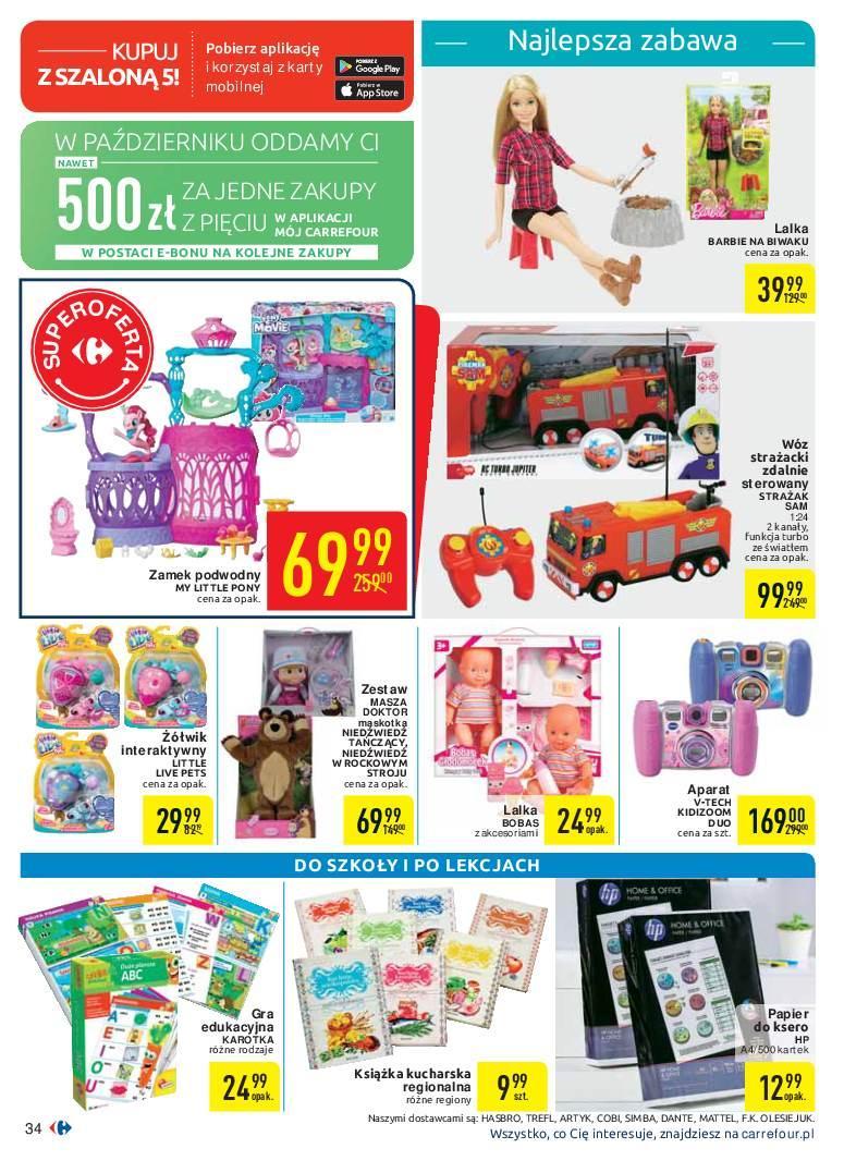 Gazetka promocyjna Carrefour do 07/10/2018 str.34