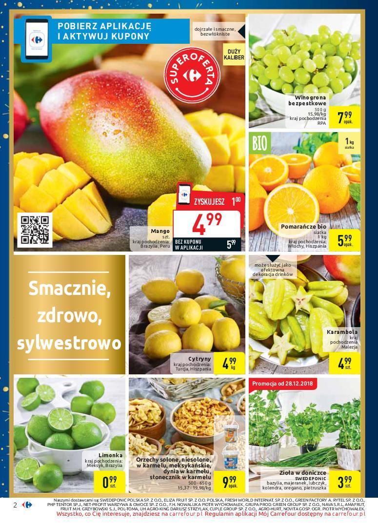 Gazetka promocyjna Carrefour do 05/01/2019 str.1