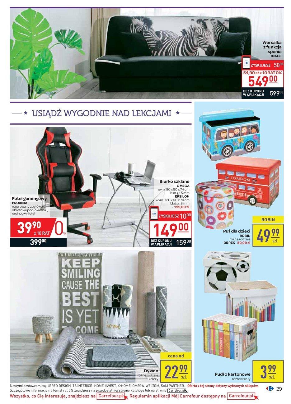 Gazetka promocyjna Carrefour do 18/08/2018 str.29