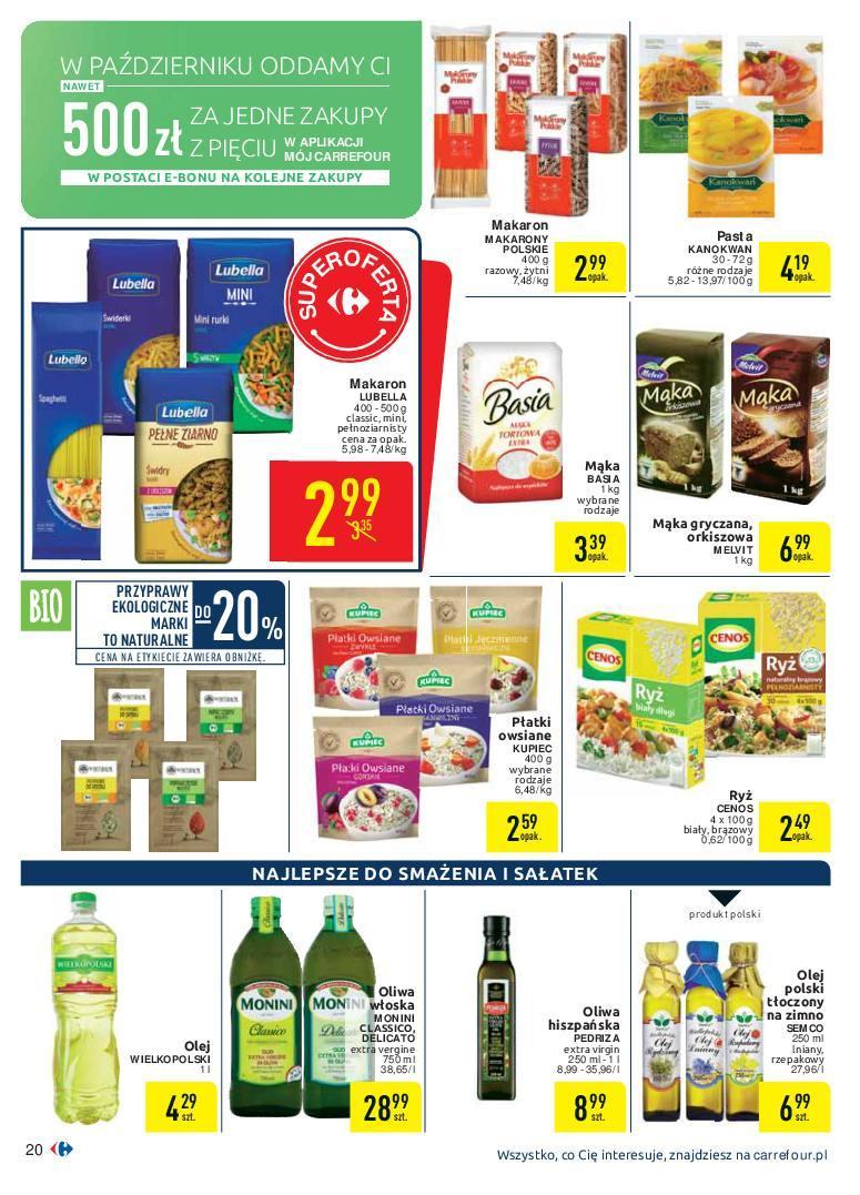 Gazetka promocyjna Carrefour do 07/10/2018 str.20