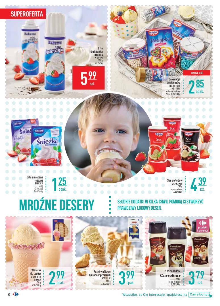 Gazetka promocyjna Carrefour do 01/07/2018 str.8