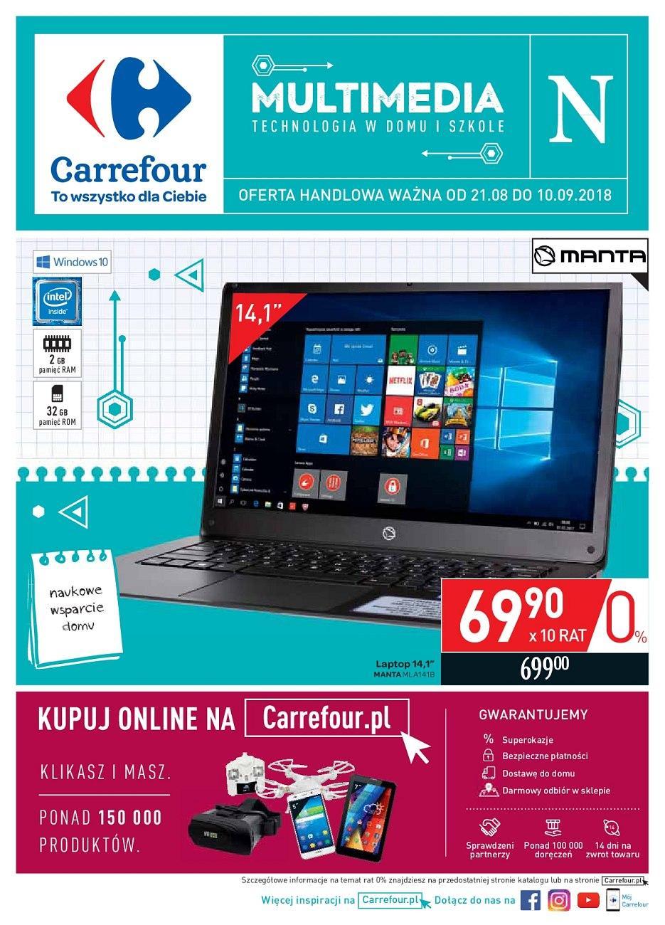 Gazetka promocyjna Carrefour do 10/09/2018 str.0