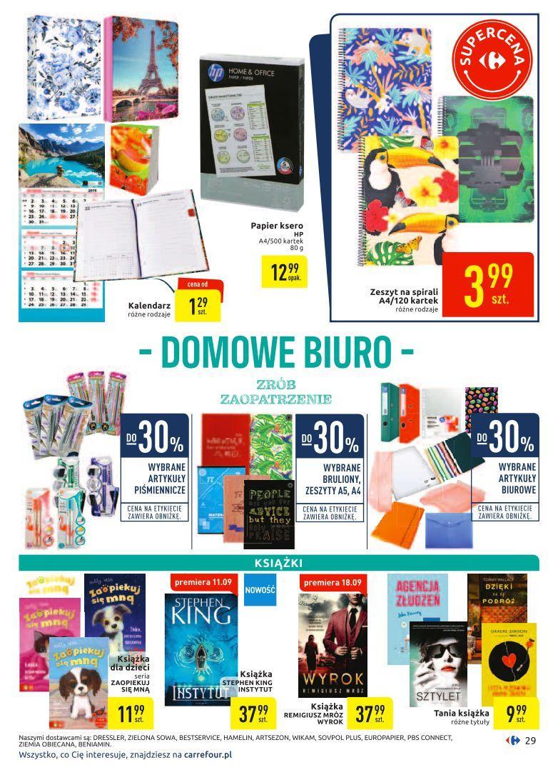 Gazetka promocyjna Carrefour do 29/09/2019 str.28