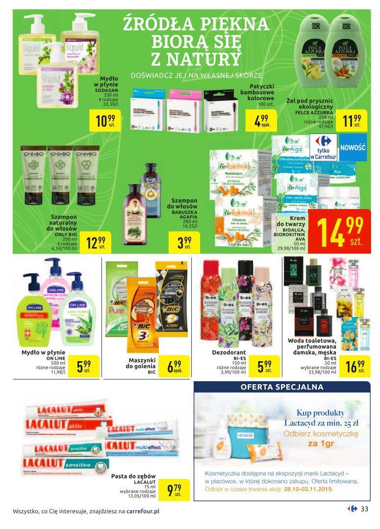 Gazetka promocyjna Carrefour do 09/11/2019 str.33