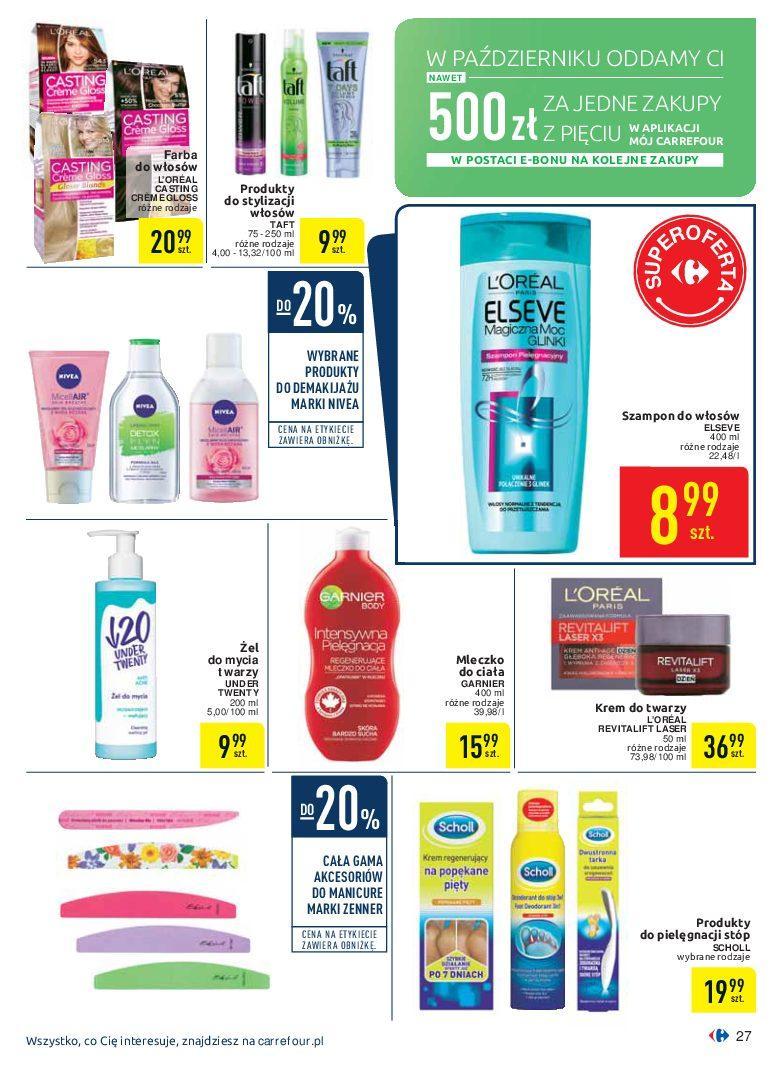 Gazetka promocyjna Carrefour do 07/10/2018 str.27