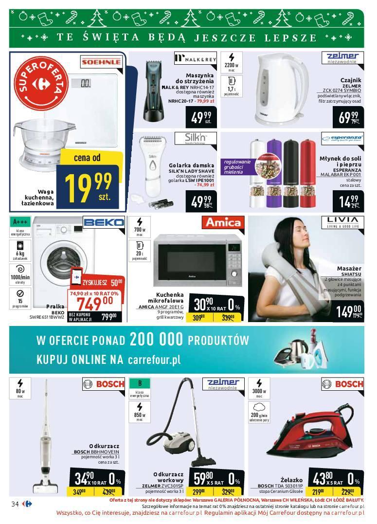 Gazetka promocyjna Carrefour do 08/12/2018 str.34