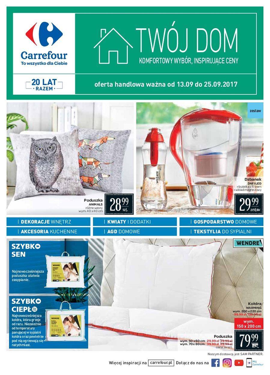 Gazetka promocyjna Carrefour do 25/09/2017 str.0