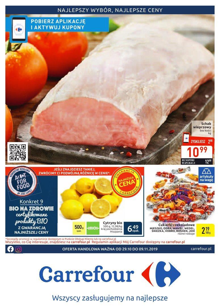 Gazetka promocyjna Carrefour do 09/11/2019 str.0