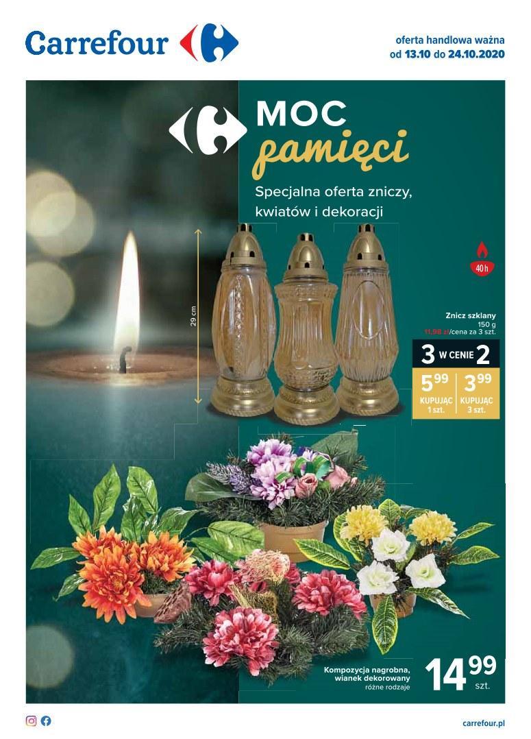 Gazetka promocyjna Carrefour do 24/10/2020 str.0