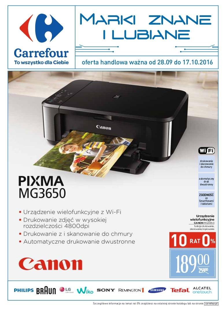 Gazetka promocyjna Carrefour do 17/10/2016 str.0