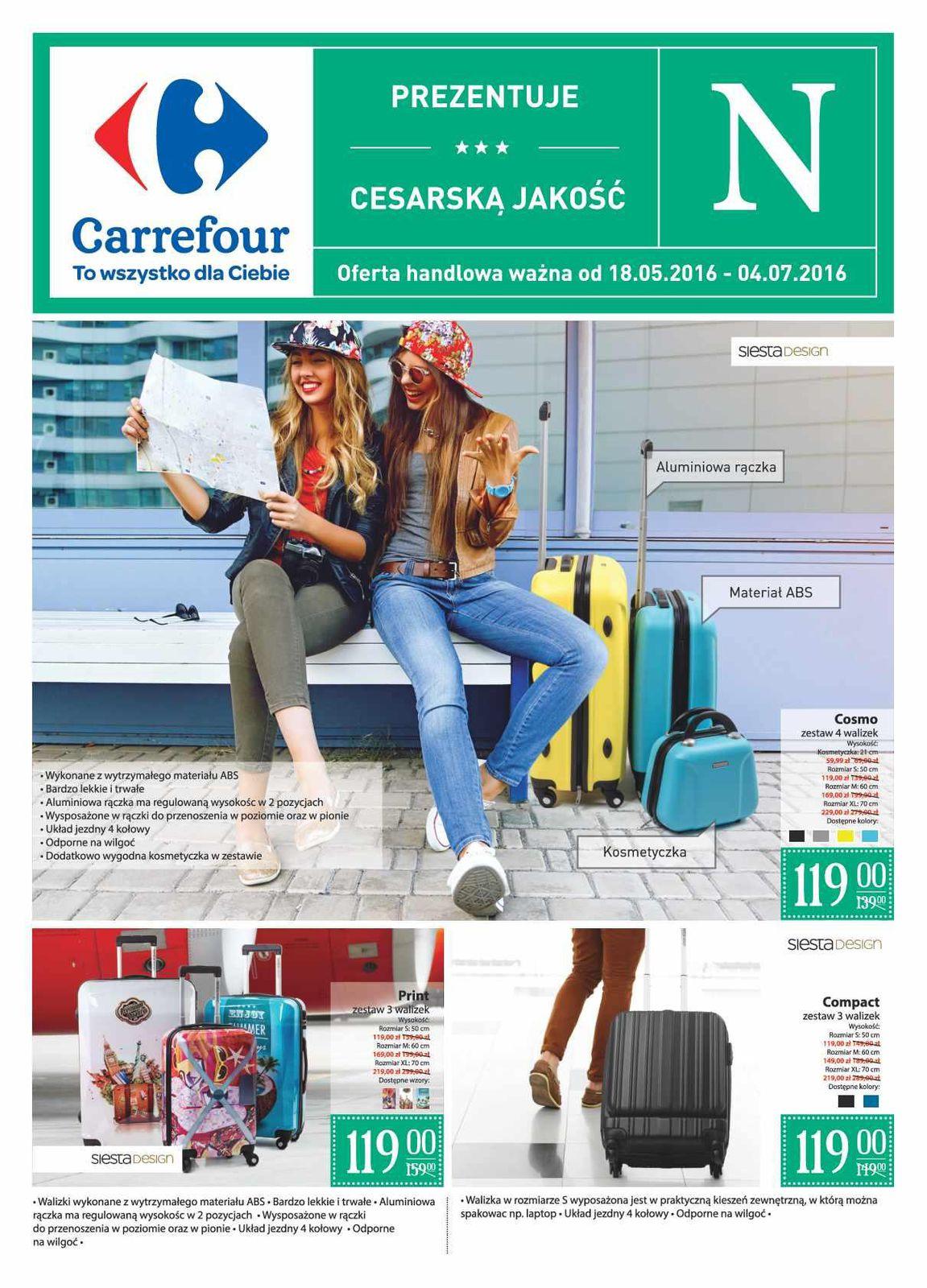 6b8a3aeeb20f7 Gazetka promocyjna Carrefour do 04 07 2016 str.1