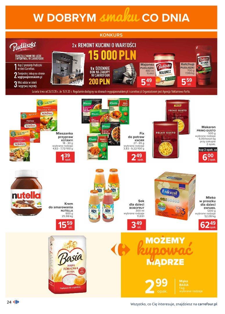 Gazetka promocyjna Carrefour do 07/11/2020 str.24