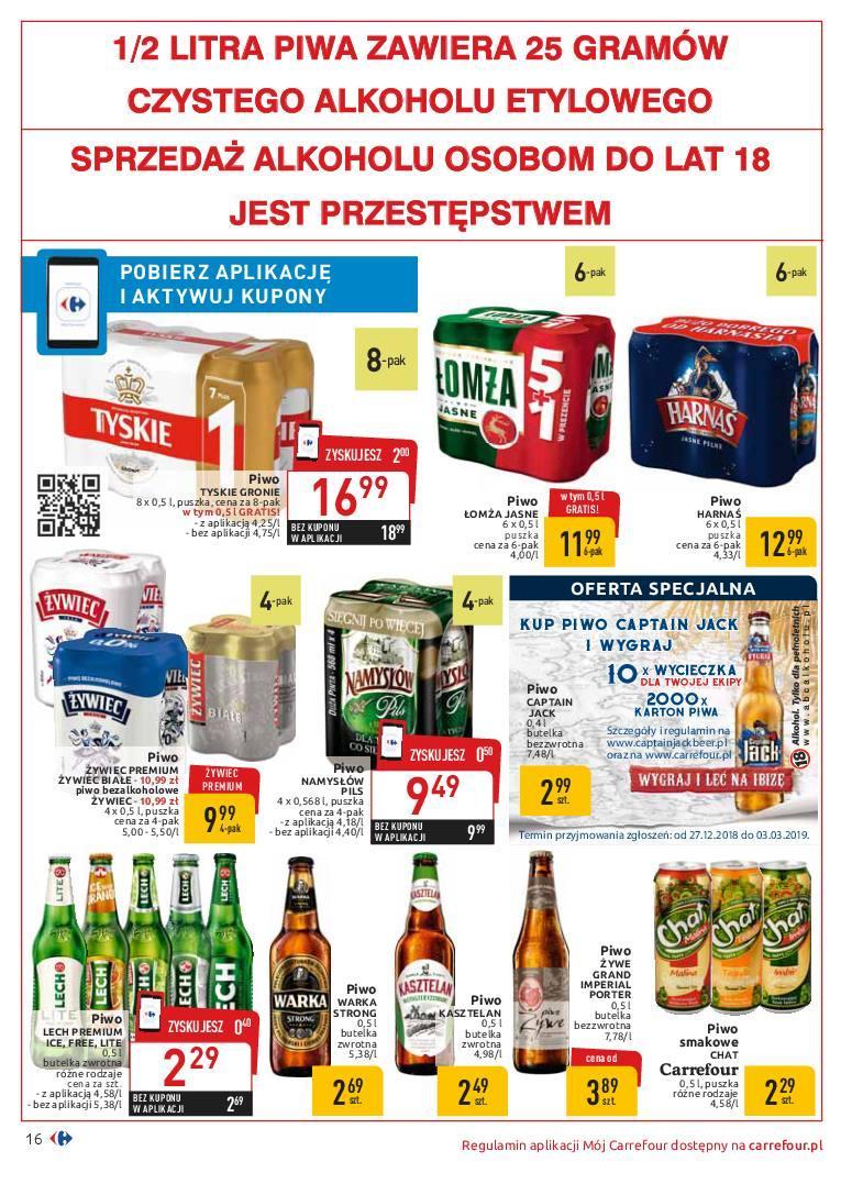 Gazetka promocyjna Carrefour do 19/01/2019 str.16