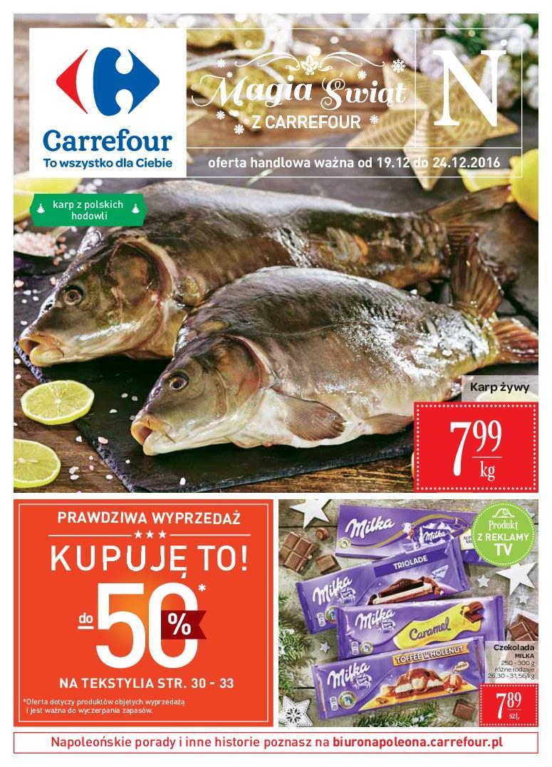 Gazetka promocyjna Carrefour do 25/12/2016 str.0