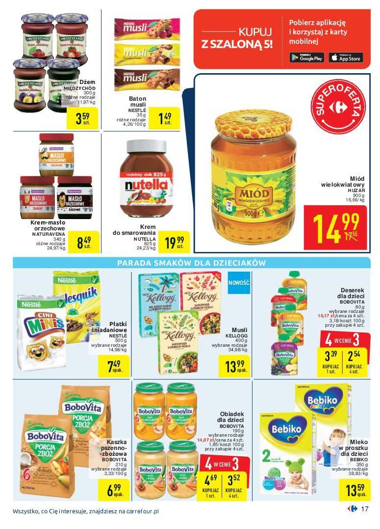Gazetka promocyjna Carrefour do 07/10/2018 str.17