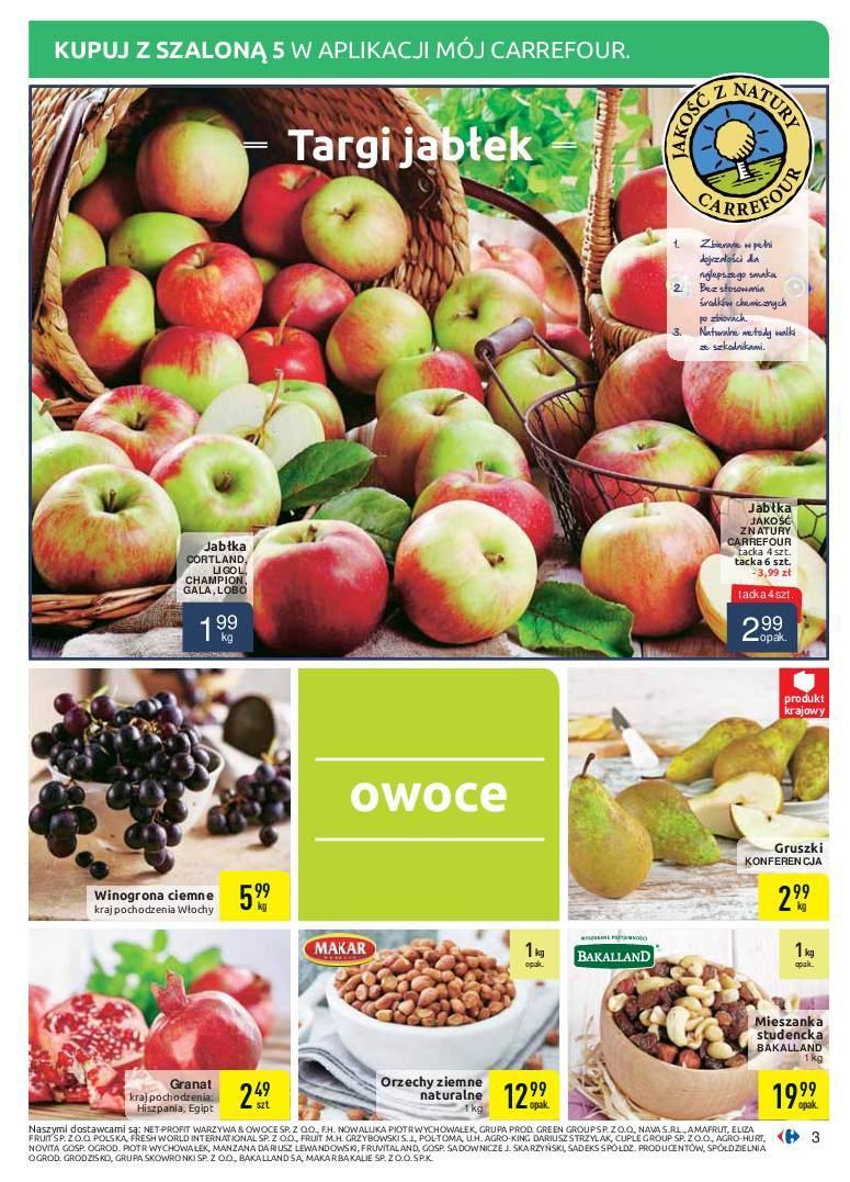 Gazetka promocyjna Carrefour do 07/10/2018 str.3
