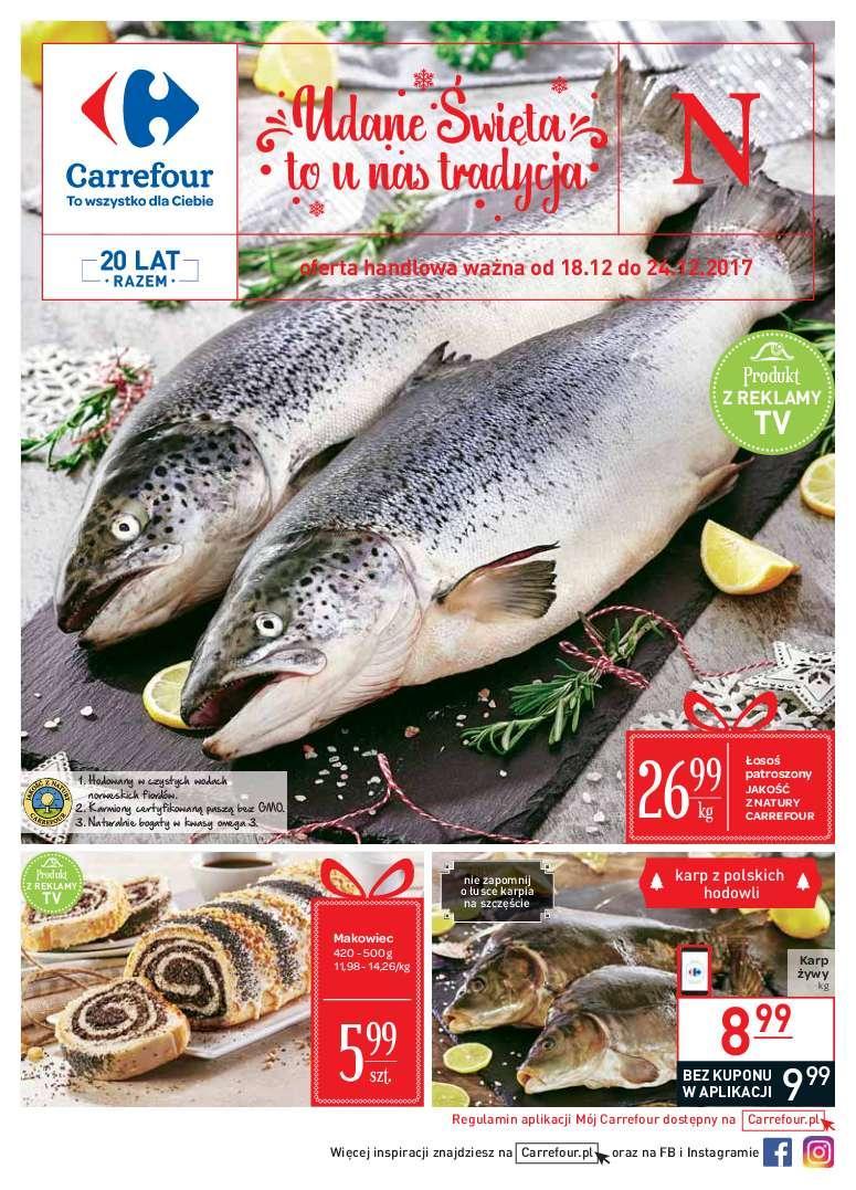 Gazetka promocyjna Carrefour do 24/12/2017 str.0