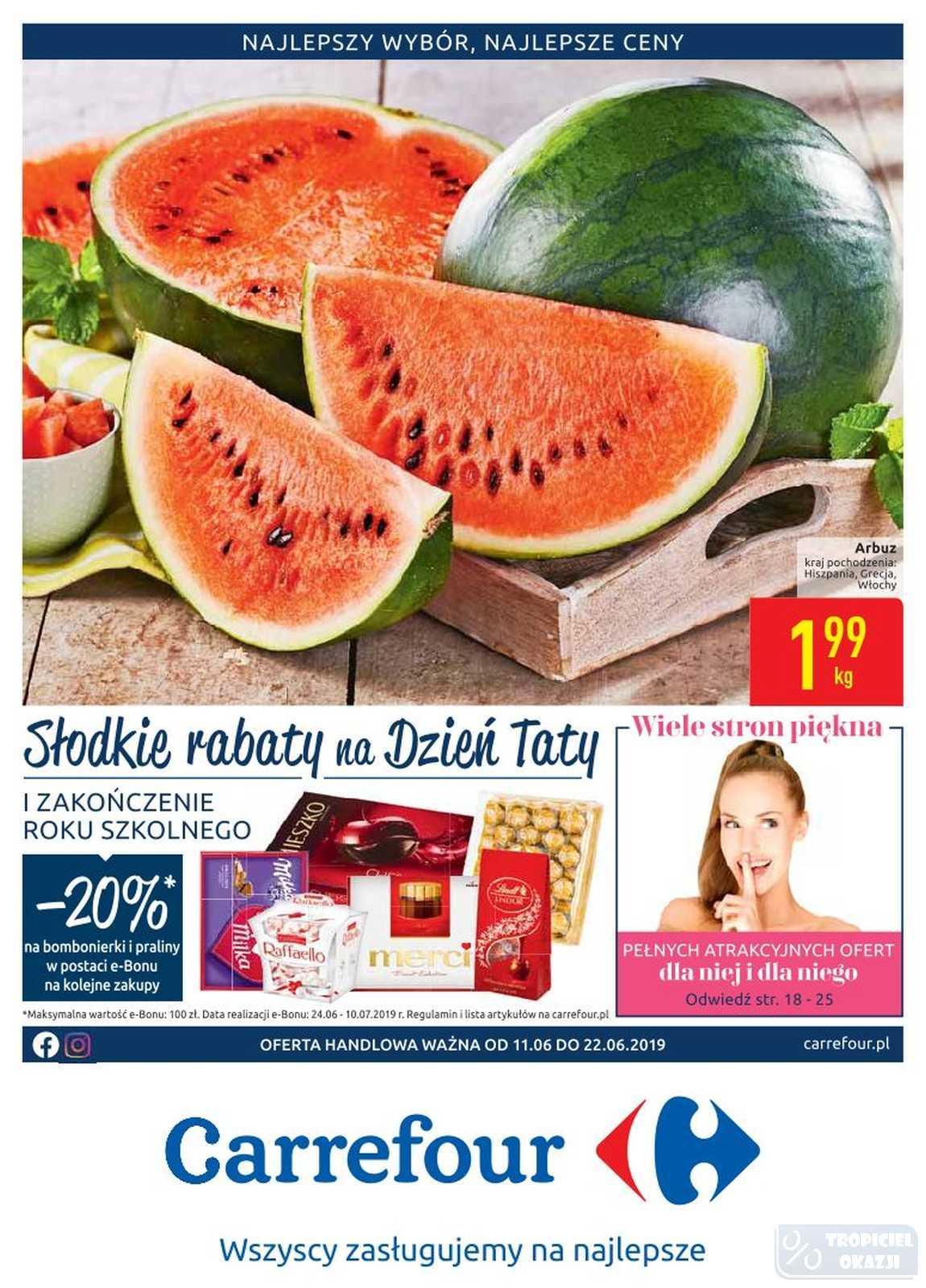 Gazetka promocyjna Carrefour do 22/06/2019 str.0