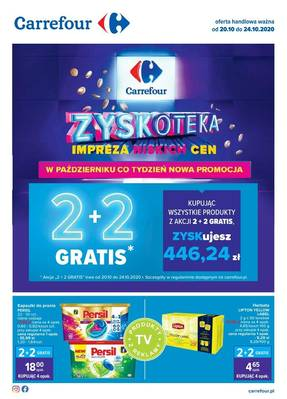 Carrefour gazetka  - od 20/10/2020 do 24/10/2020