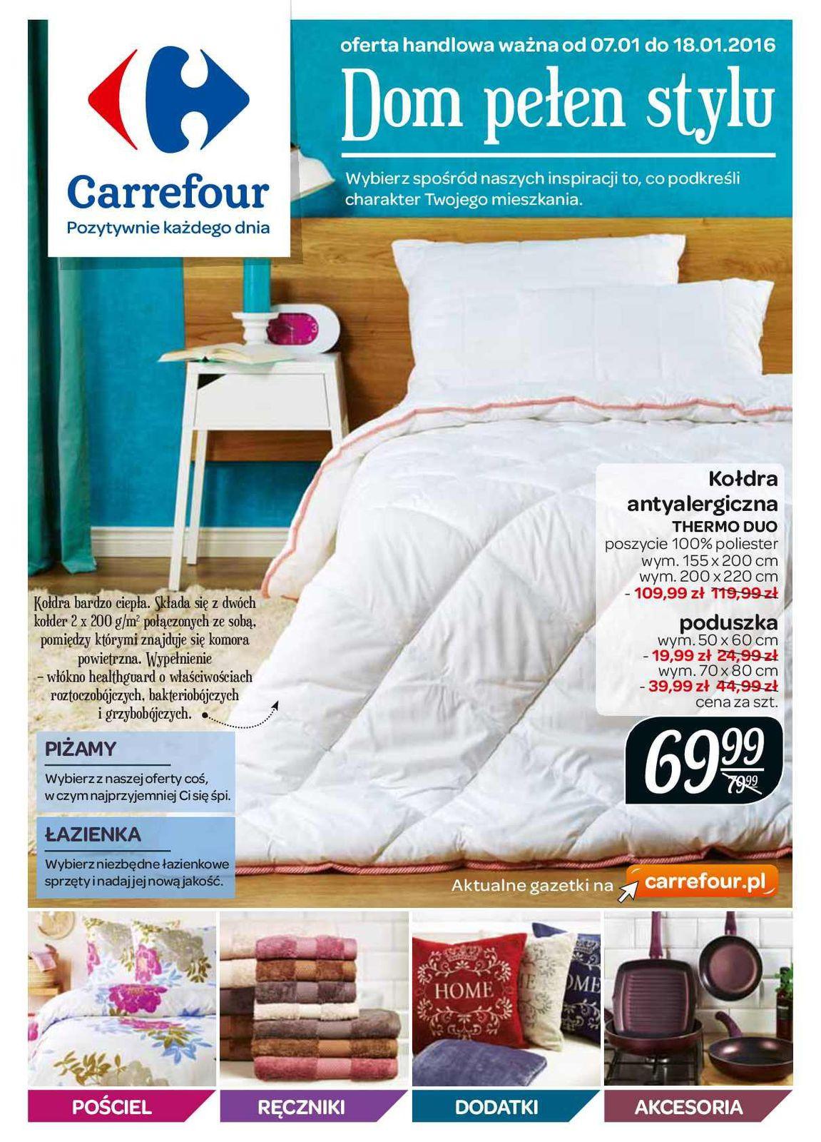 Gazetka promocyjna Carrefour do 18/01/2016 str.0