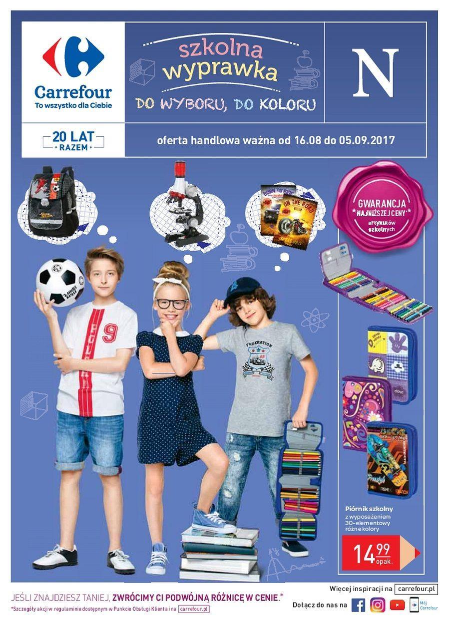 Gazetka promocyjna Carrefour do 05/09/2017 str.0