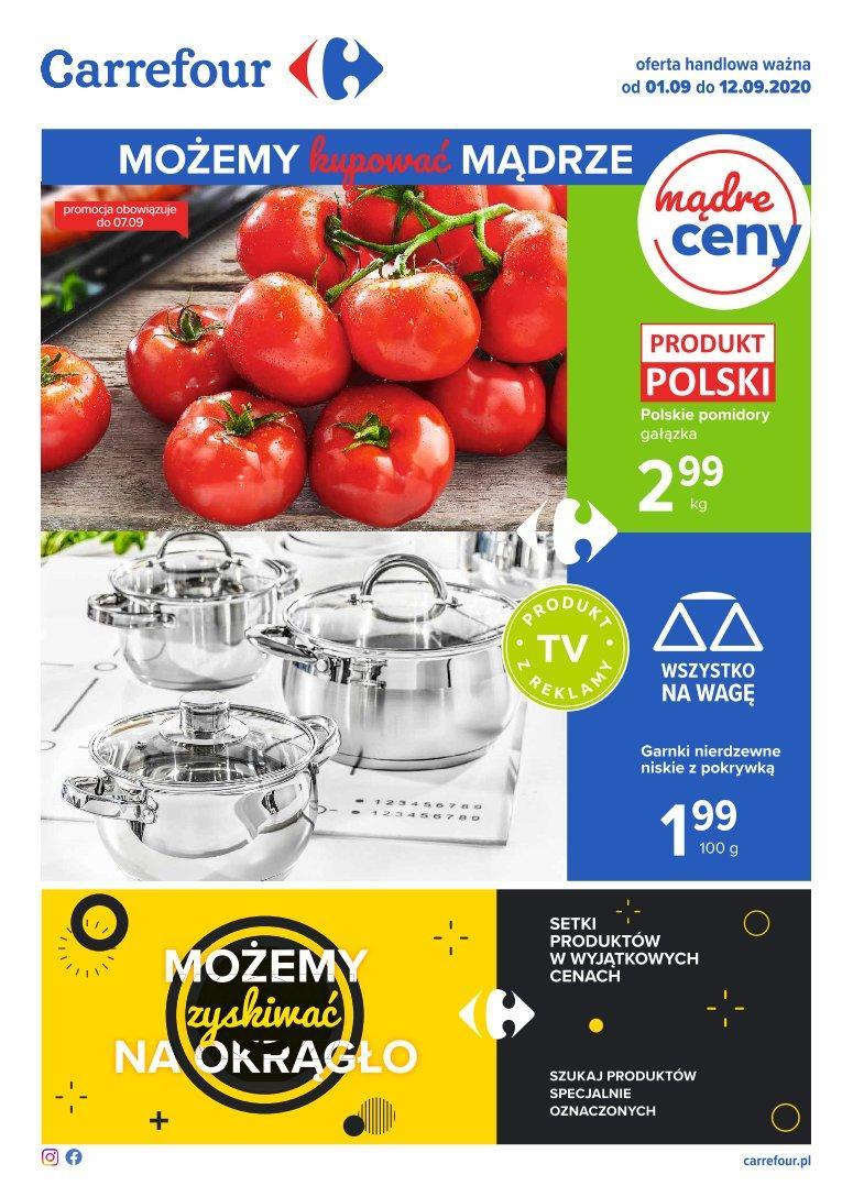 Gazetka promocyjna Carrefour do 12/09/2020 str.0