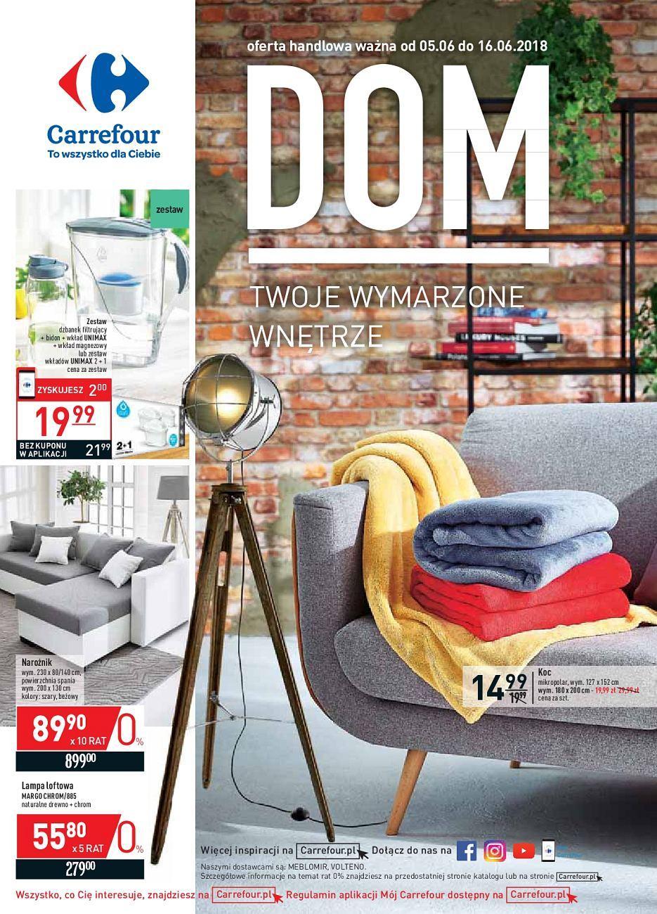 Gazetka promocyjna Carrefour do 16/06/2018 str.1