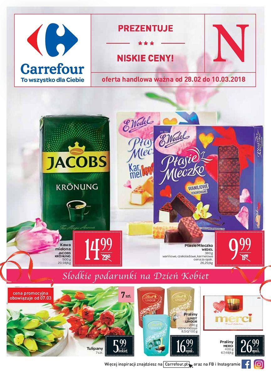 Gazetka promocyjna Carrefour do 10/03/2018 str.0
