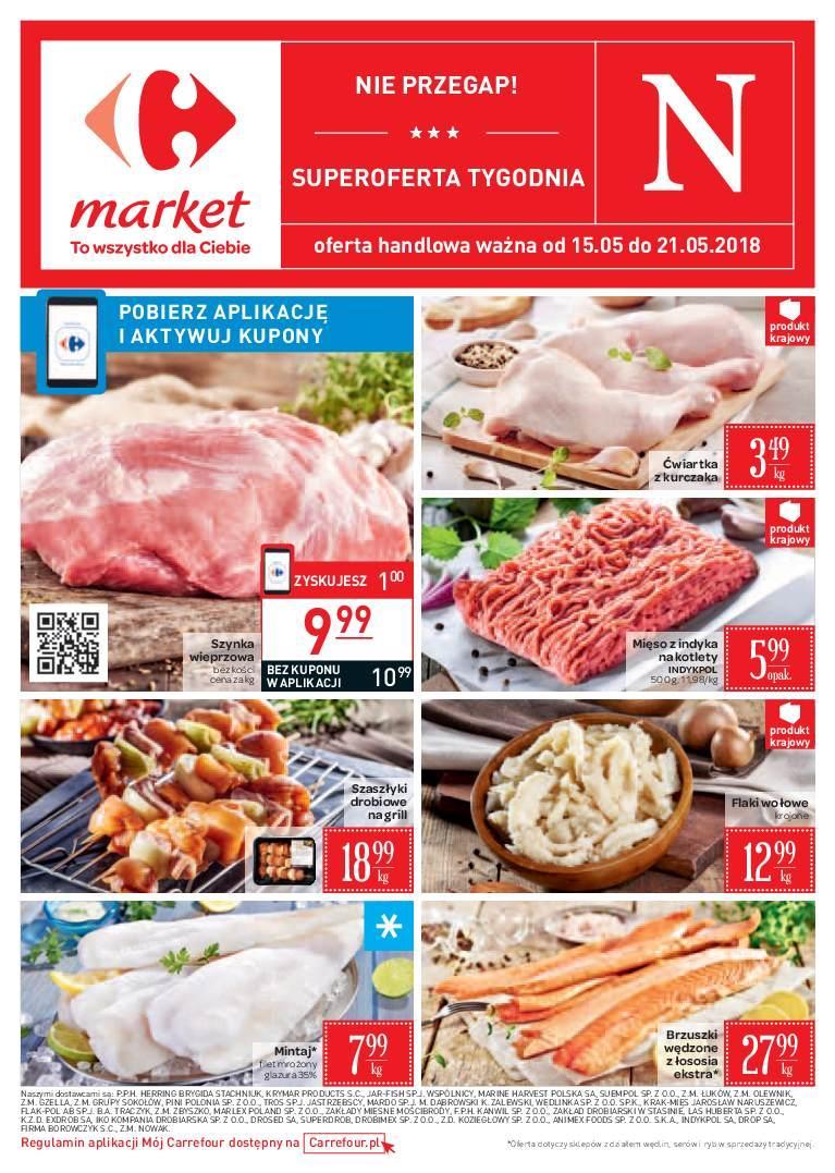 Gazetka promocyjna Carrefour Market do 21/05/2018 str.0