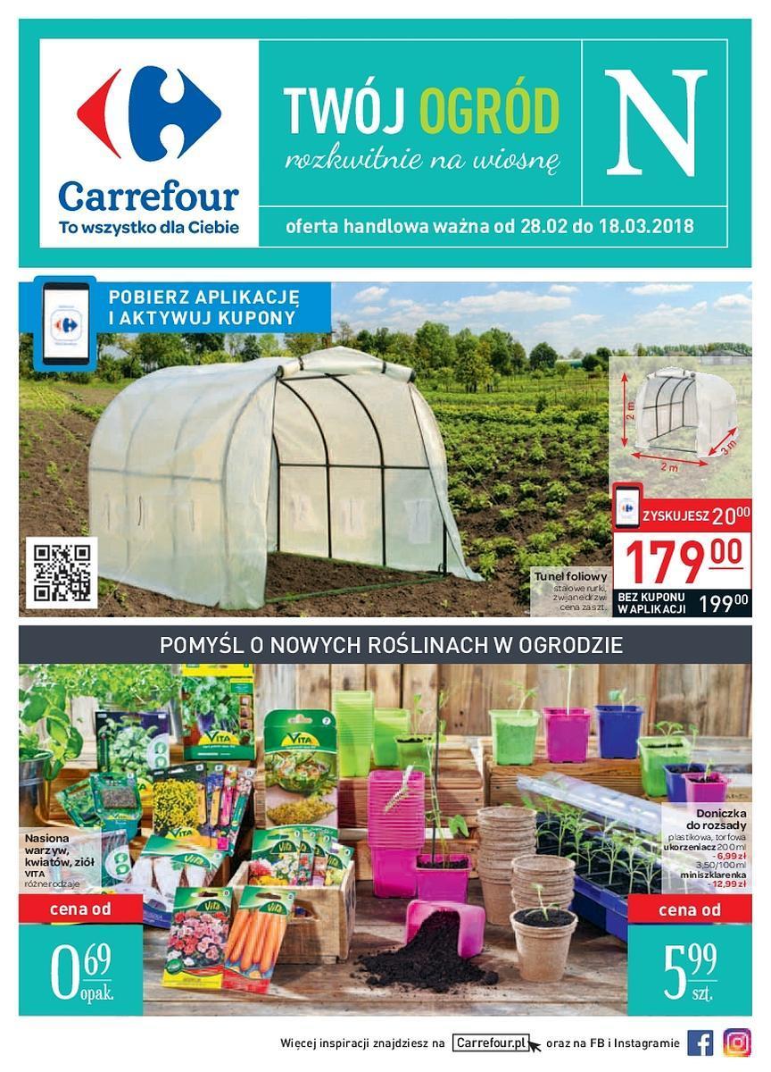 Gazetka promocyjna Carrefour do 18/03/2018 str.0