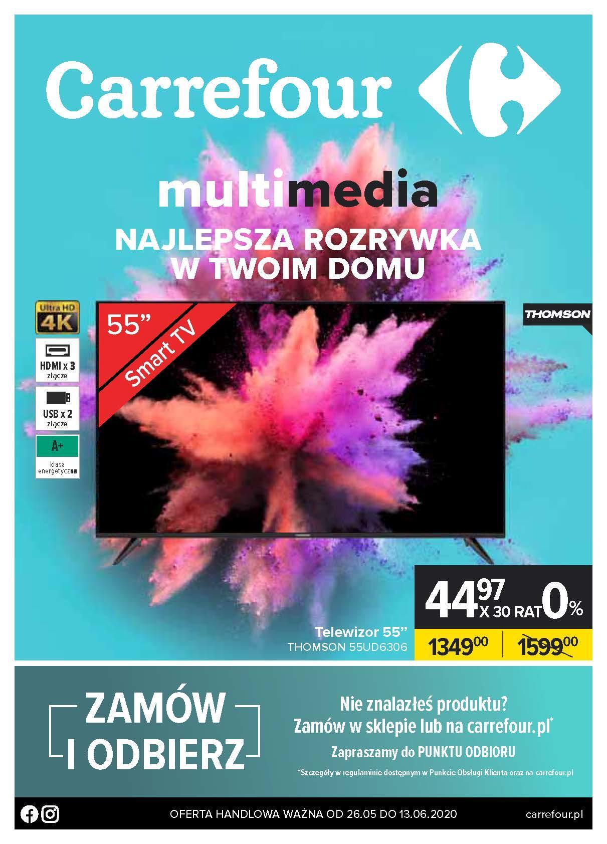 Gazetka promocyjna Carrefour do 14/06/2020 str.0