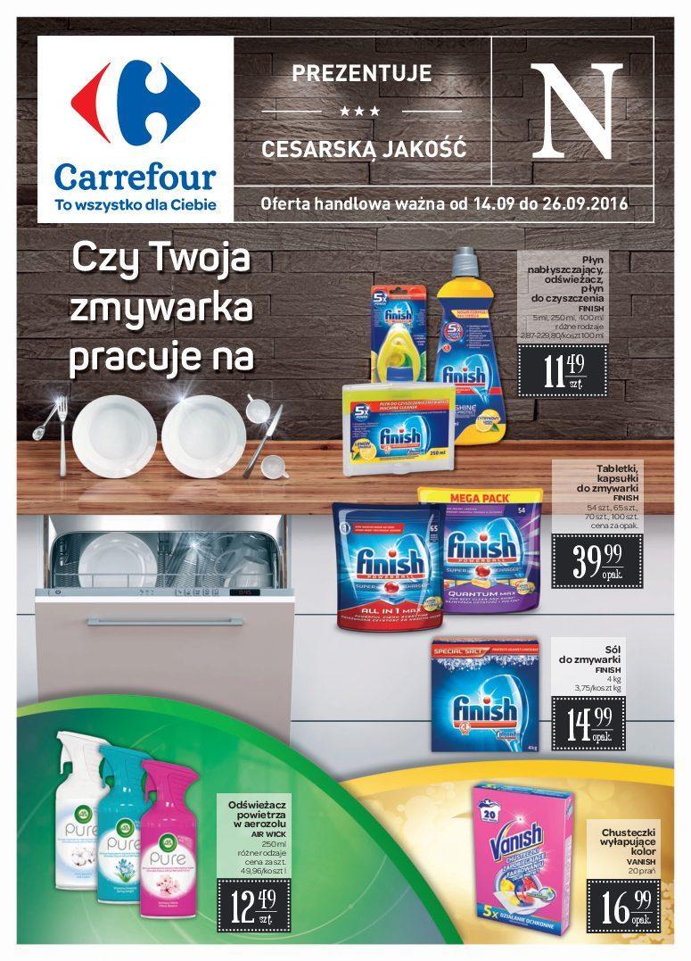 Gazetka promocyjna Carrefour do 26/09/2016 str.0