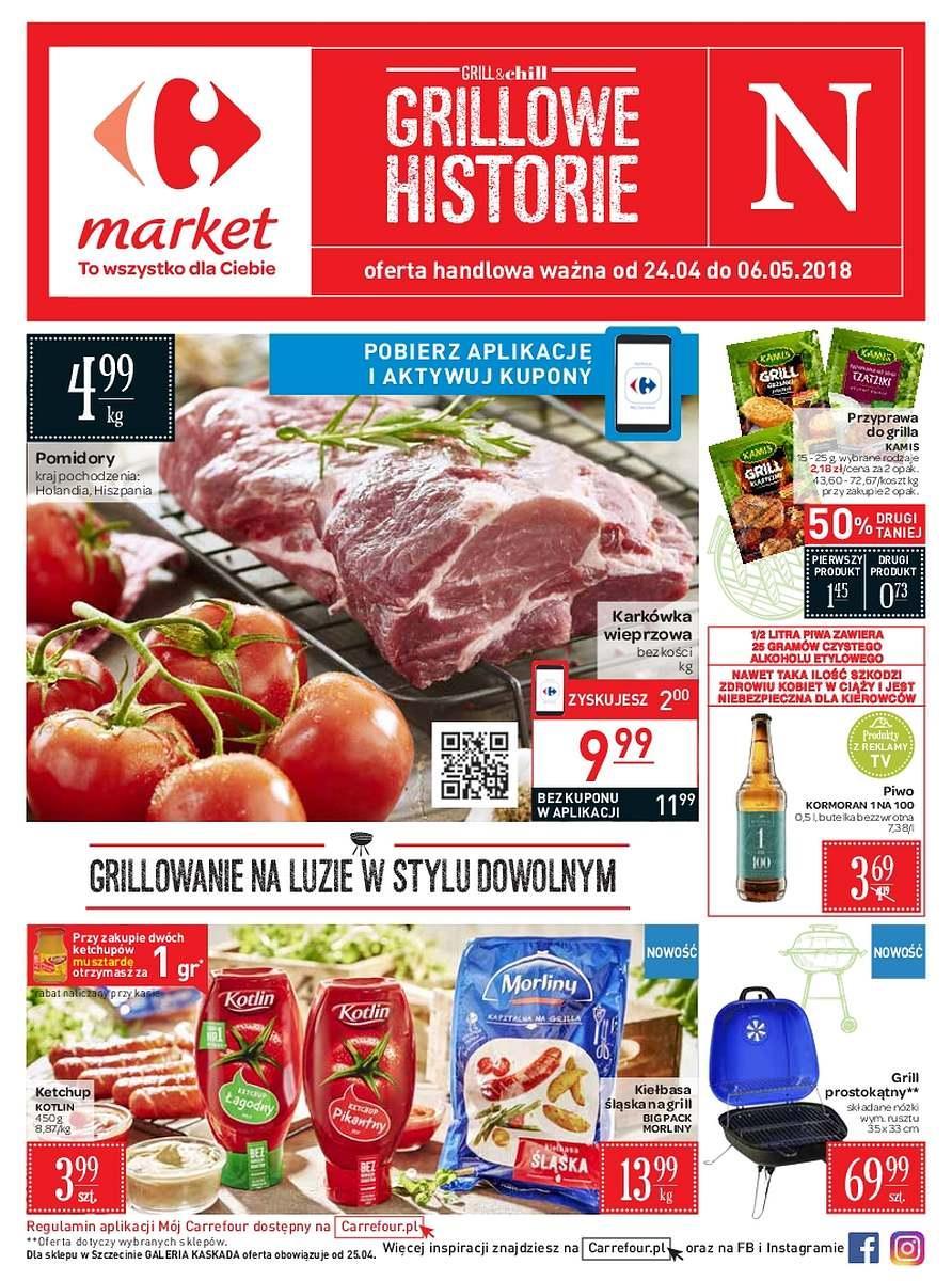 Gazetka promocyjna Carrefour Market do 06/05/2018 str.0