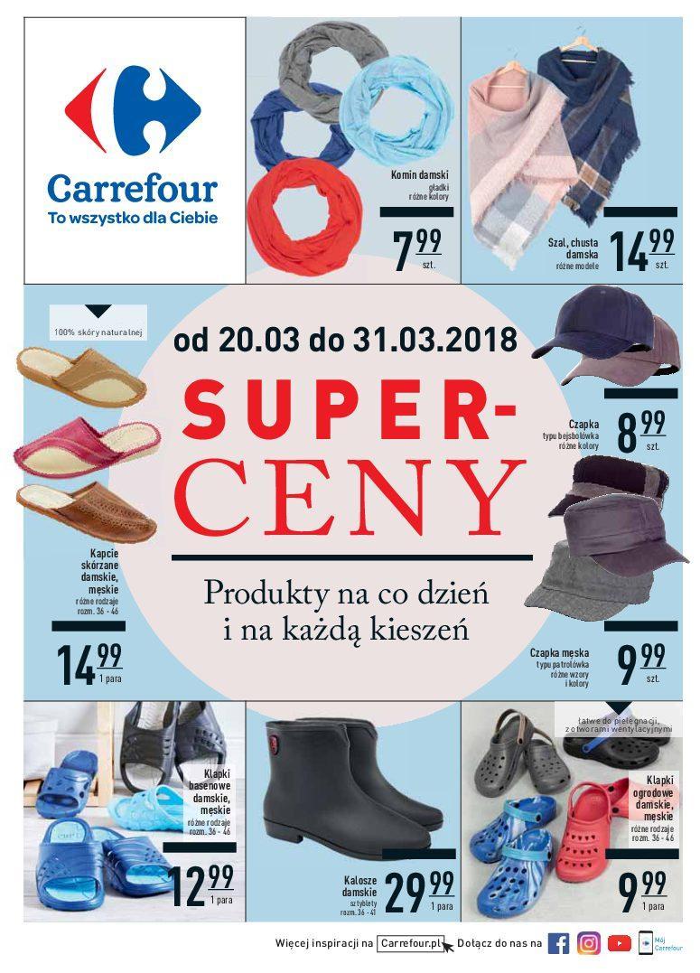 Gazetka promocyjna Carrefour do 31/03/2018 str.0