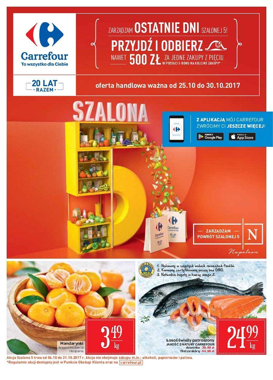 0e4075c0 Gazetka promocyjna i reklamowa Carrefour,