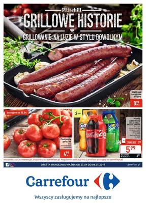 Carrefour gazetka - od 23/04/2019 do 04/05/2019