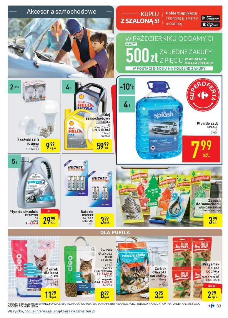 Gazetka promocyjna Carrefour do 07/10/2018 str.33