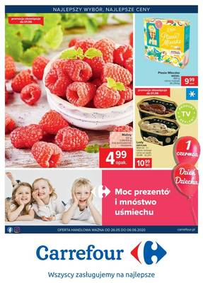 Carrefour gazetka - od 26/05/2020 do 06/06/2020