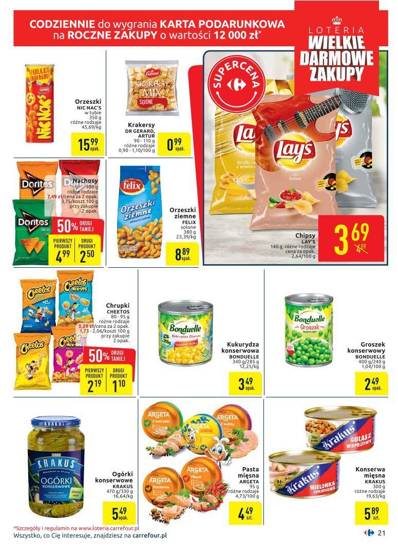 Gazetka promocyjna Carrefour do 05/10/2019 str.20