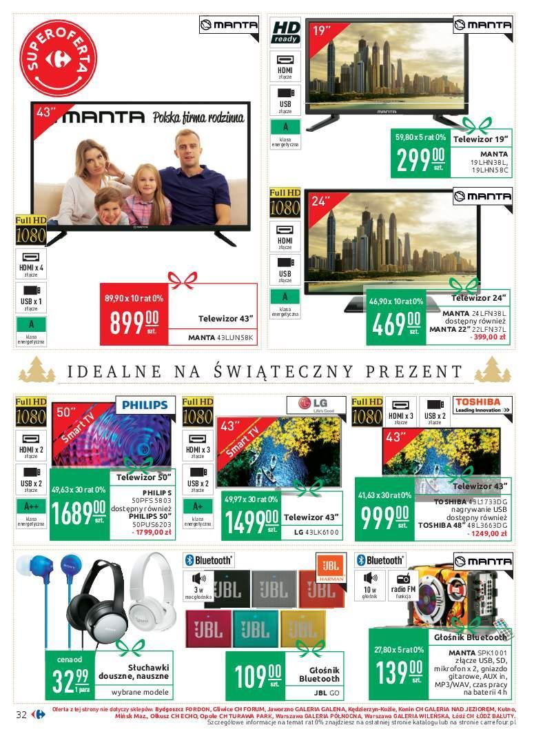Gazetka promocyjna Carrefour do 02/12/2018 str.32