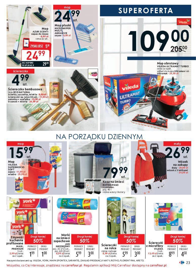 Gazetka promocyjna Carrefour do 19/01/2019 str.23