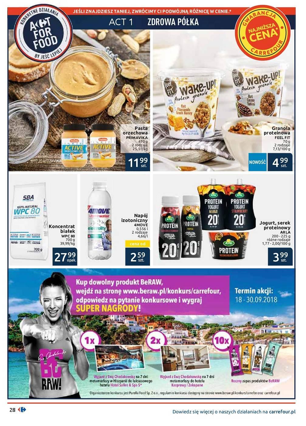 Gazetka promocyjna Carrefour do 30/09/2018 str.28